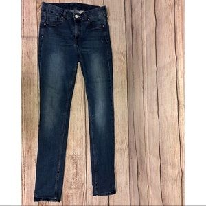 & Denim Skinny Coupe Moulante Jeans